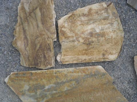 West Coast Brown Walnut Quartzite flagstone