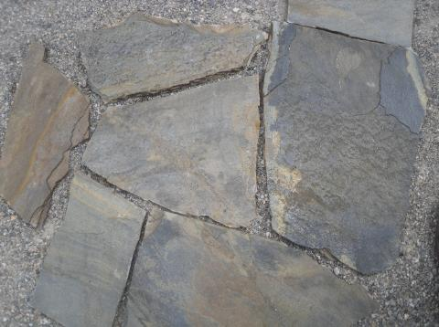 Mountain Blueberry High Grade Quartzite flagstone