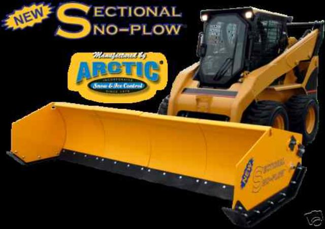 New Arctic Sectional Snow Plow